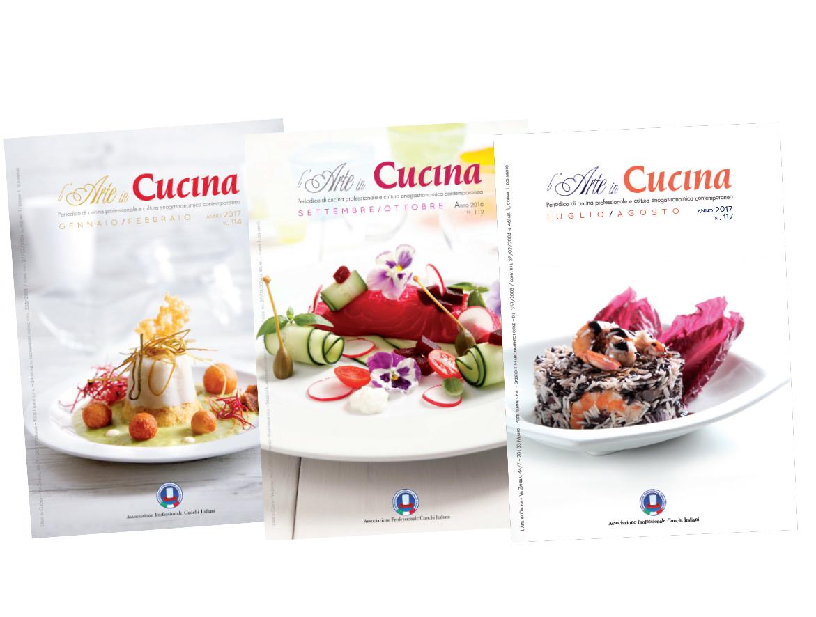 Rivista Arte in Cucina - Associazione Professionale Cuochi Italiani